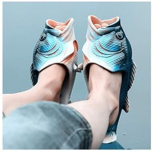 Shoes - Fish Beach Slippers